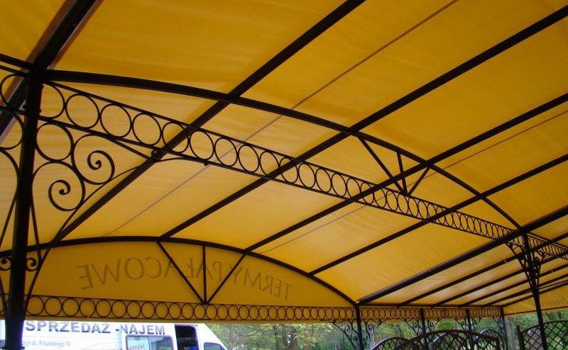 Zadaszenie restauracji Nałęczów №60191