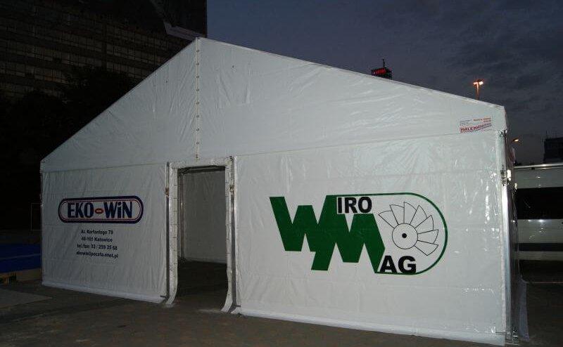 Namiot halowy Katowice №240200