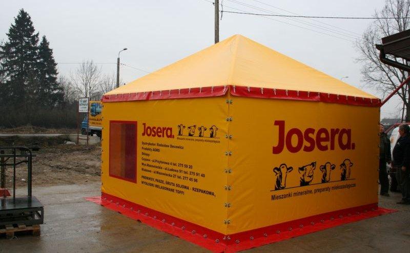 Hala namiotowa wystawiennicza Czyżew №200527