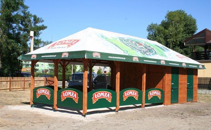 Zadaszenie restauracji Łomża №200536