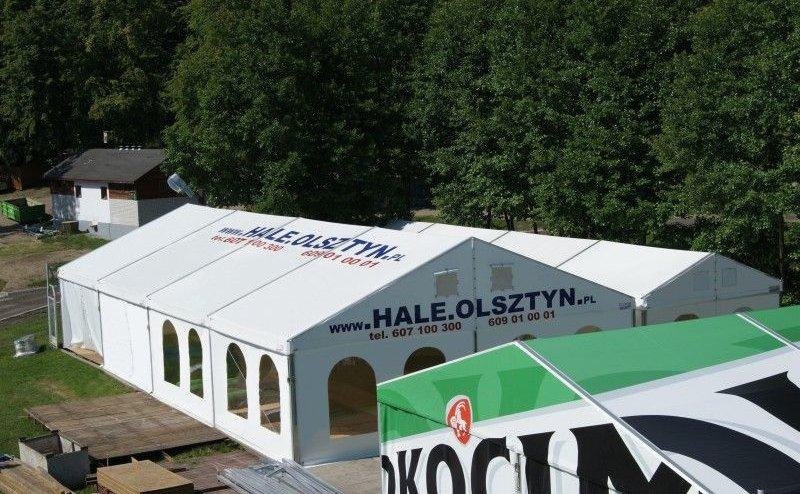 Hala namiotowa targowa Stare Jabłonki №280438
