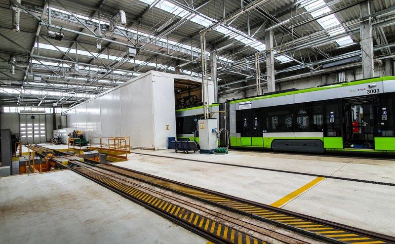 Zadaszenie myjni tramwajowej w Olsztyńskim MPK Olsztyn №280975