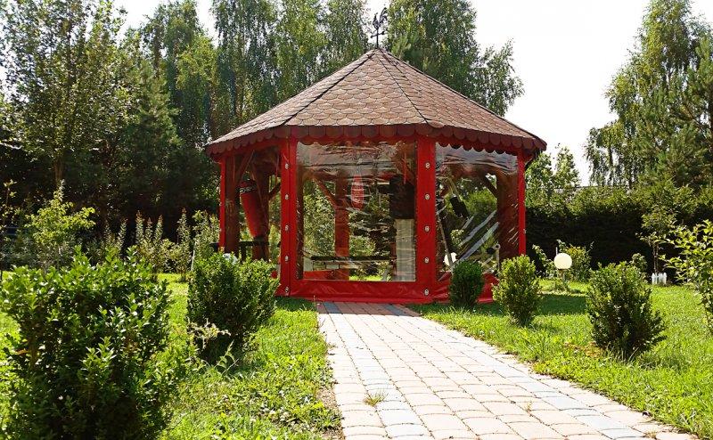 Folie okienne do zabezpieczenia altan ogrodowych Dywity №280815