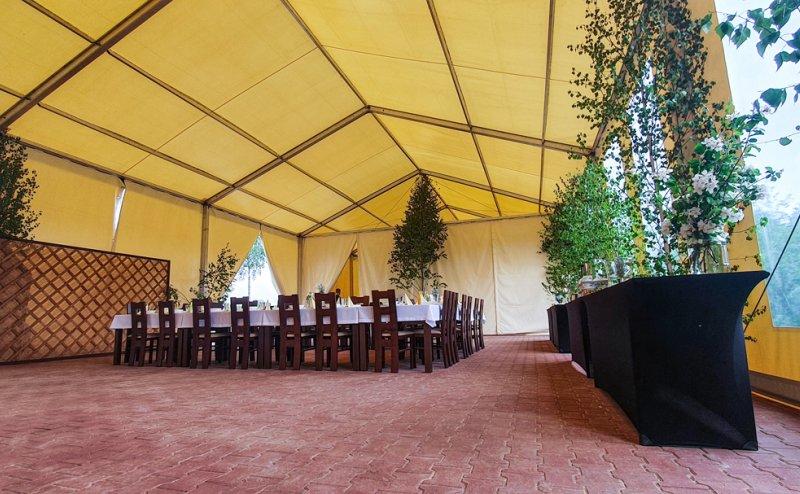 Namioty okolicznościowe dla firmy Bartbo Butryny №281118