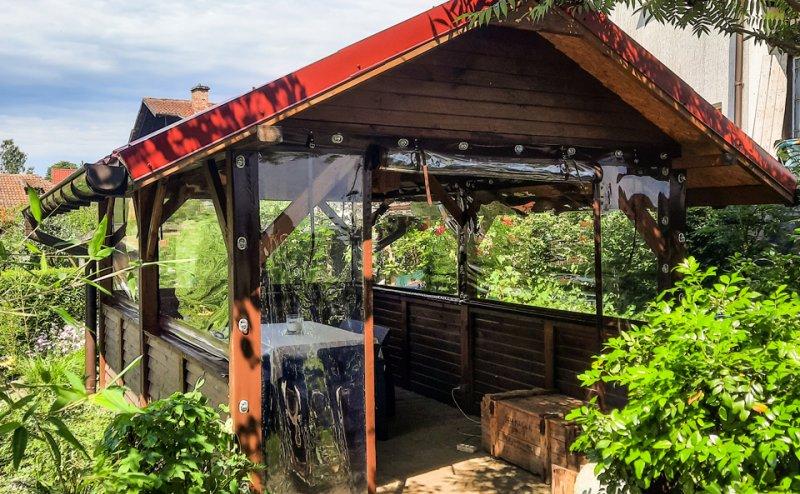 Okna w ogrodowej altanie w Lidzbarku Warmińskim Lidzbark Warmiński №281146