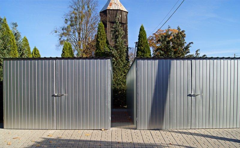 Garaże z blachy ocynkowanej w Jazioranach Jeziorany №280843