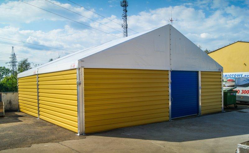 Niebieska brama wjazdowa w hali w Biskupcu Biskupiec №280938