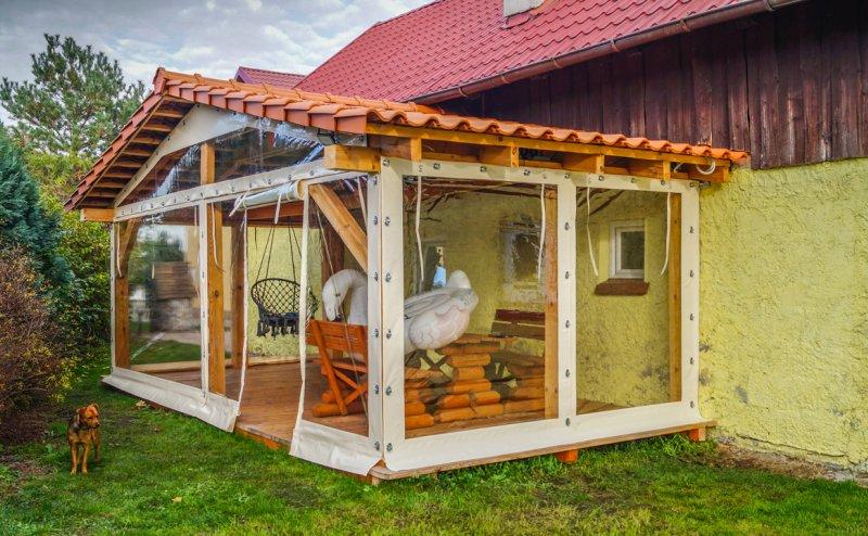 Okna tarasowe w miejscowości Różyna Różyna №281058