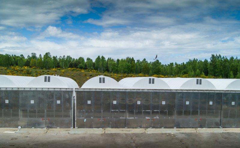 Zadaszenie reaktorów kompostowni w Zambrowie Zambrów №200992