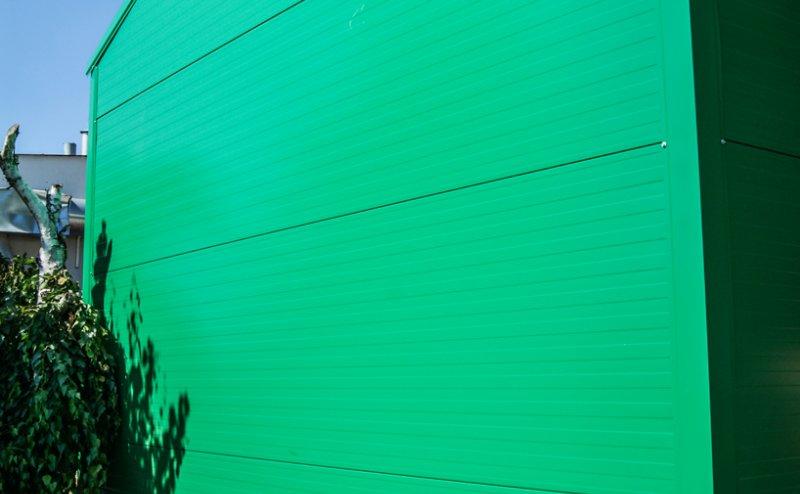 Zielona hala z płyty warstwowej Ożarów Mazowiecki №141024