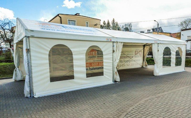 Hala w Barczewie na terenie Ośrodka Zdrowia Barczewo №281104