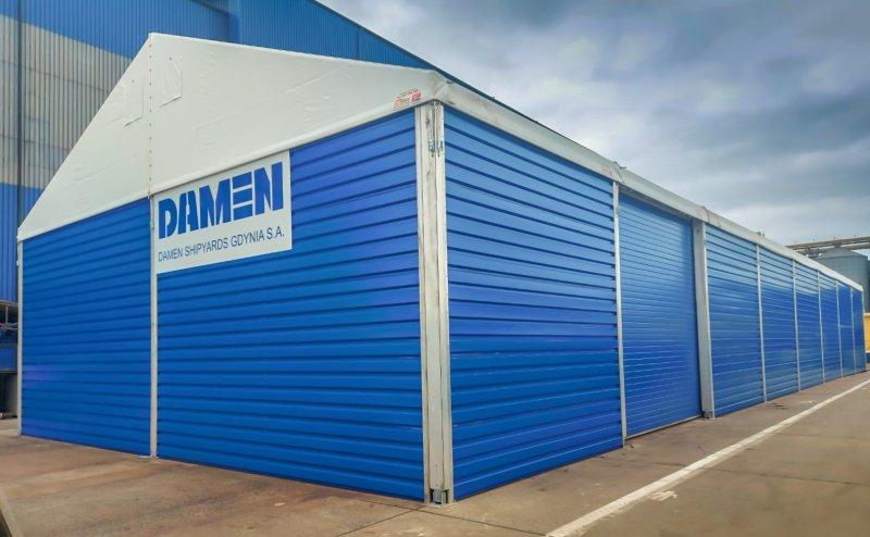 Hala na terenie firmy Damen w Gdyni Gdynia №221148