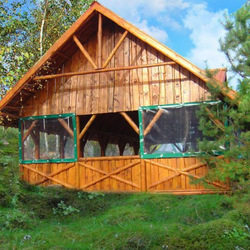 Folia przeźroczysta do okien i altan Łukta №280391