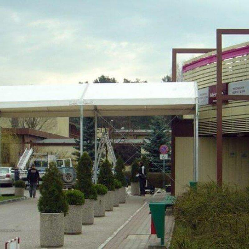 Zadaszenie restauracji Mrągowo №280401