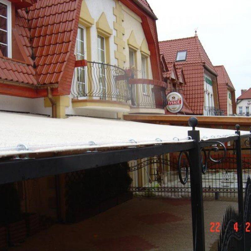 Zadaszenie restauracji Mikołajki №280394