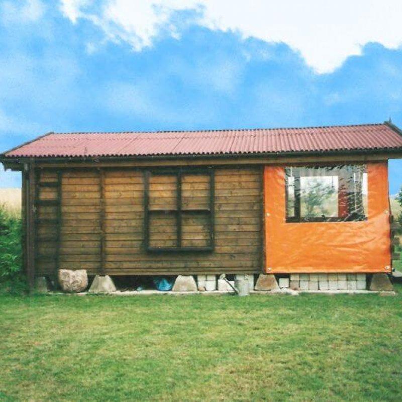 Folia przeźroczysta do okien i altan Swobodna №280206
