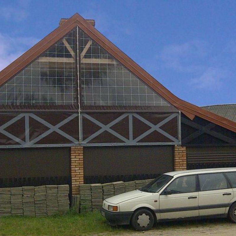 Folia przeźroczysta do okien i altan Swaderki №280442