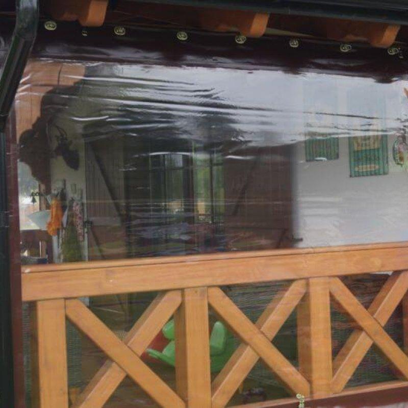 Folia przeźroczysta do okien i altan Klewki №280380