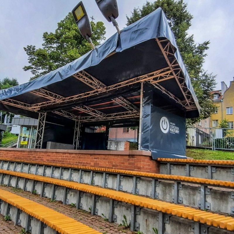 Zadaszenie reżyserki na olsztyńskim amfiteatrze Olsztyn №281142